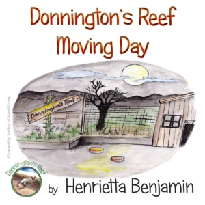 Donnington's Reef Moving Day by Henrietta Benjamin (paperback)
